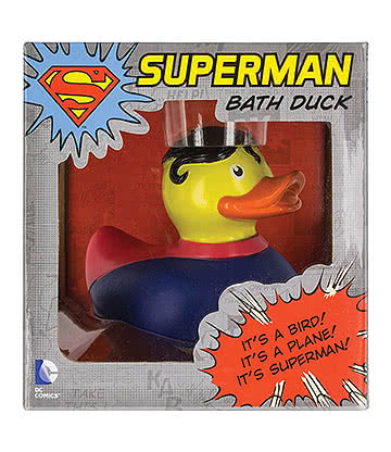 DC Comics Superman Bath Duck (Multicoloured)