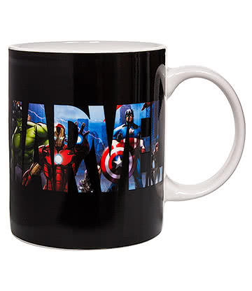 Marvel Avengers Heat Change Mug (Multicoloured)