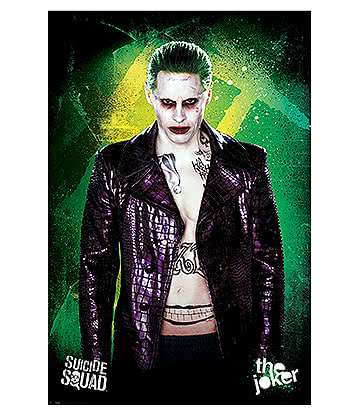Suicide Squad Joker Maxi Poster