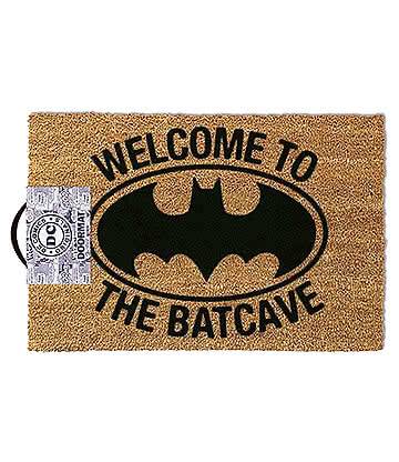 Batman Batcave Paillasson Pour Entrée - Tapis (Marron)