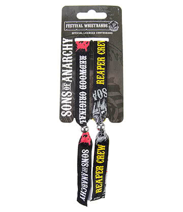 Sons of Anarchy Fabric Wristbands (Multicoloured)
