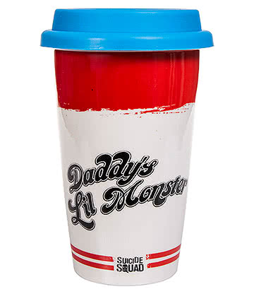 Suicide Squad Daddy's Lil Monster Travel Mug (Multicoloured)