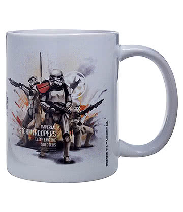 Star Wars Rogue One Stormtrooper Mug (White)