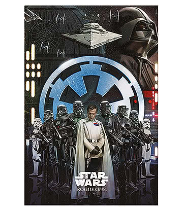 Poster Rogue One Empire Star Wars - Taglia Unica
