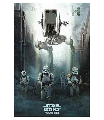 Star Wars Rogue One Stormtrooper Poster (Multicoloured)