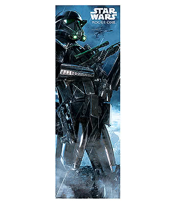 Star Wars Rogue One Death Trooper Door Poster (Multicoloured)