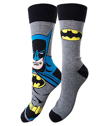 DC Comics Batman Socks (Pack of 2)