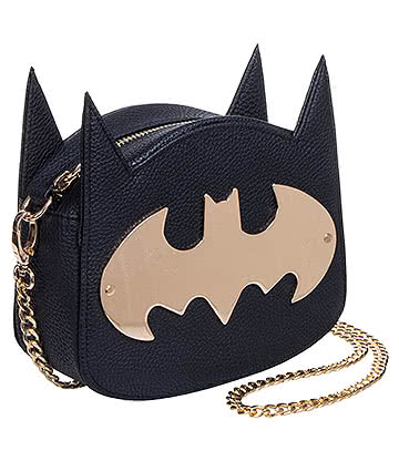 DC Comics Gotham Gold Handbag (Black)