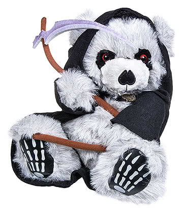 Spiral Direct Ted The Grim Bear (Grey/Black)
