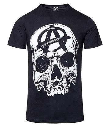 Sons Of Anarchy Big Skull T Shirt (Black)