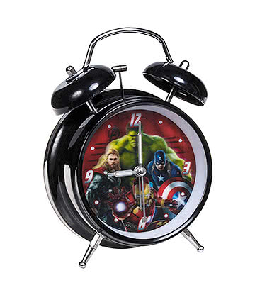 Marvel Comics Avengers Alarm Clock (Multicoloured)