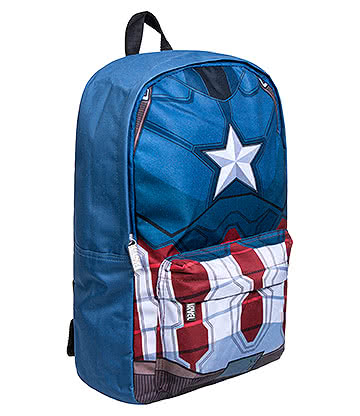 Marvel Comics Captain America Backpack (Blue)