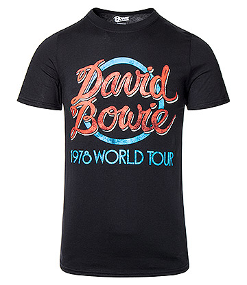 Official David Bowie '78 Tour T Shirt (Black)