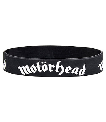 Official Motorhead Logo Wristband (Black)