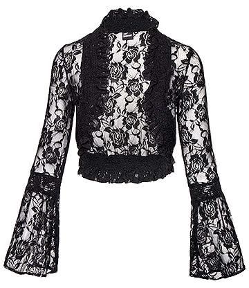 Banned Diva Days Bolero (Black)