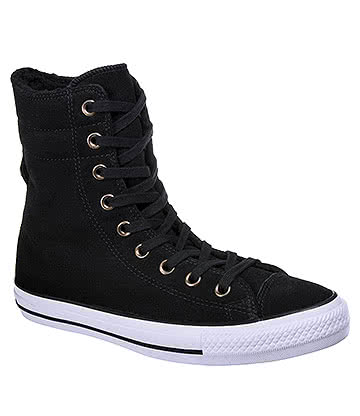 Converse All Star High-Rise Boots (Black)