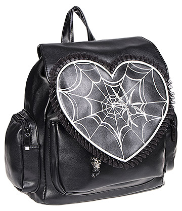 Banned Spider Backpack (Black)