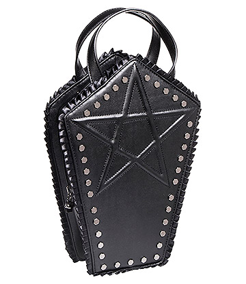 Banned Coffin Bag (Black)