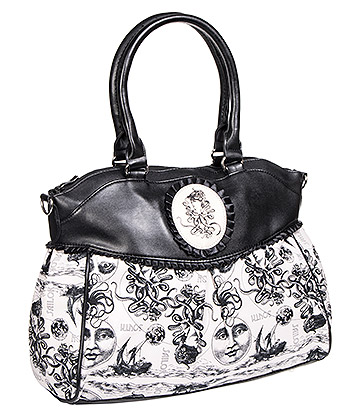 Banned Calais Octopus Bag (White/Black)