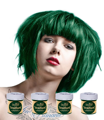 La Riche Directions Colour Hair Dye 4 Pack 88ml (Alpine Green)