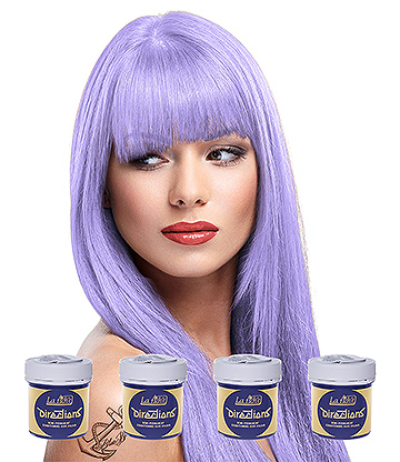 La Riche Directions Colour Hair Dye 4 Pack 88ml (Lilac)