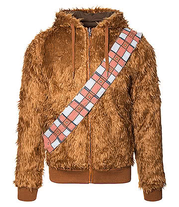 Star Wars Chewbacca Reversible Hoodie (Brown)