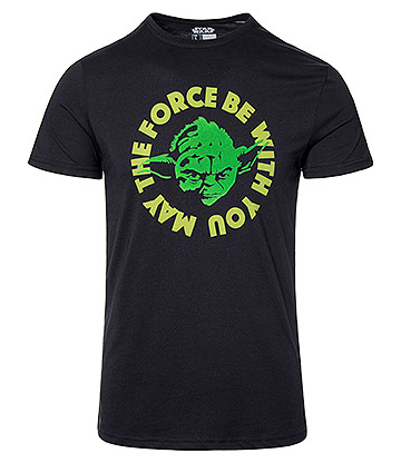 Star Wars May The Force Be With You T Shirt (Black)