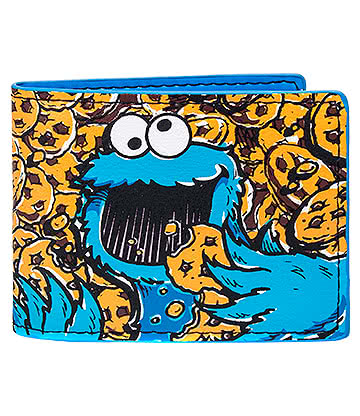 Sesame Street Cookie Monster Wallet (Blue)