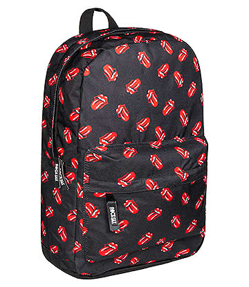 RockSax X The Rolling Stones All Over Tongue Backpack (Black)