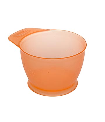 Hair Dye Mixing Bowl (Orange)