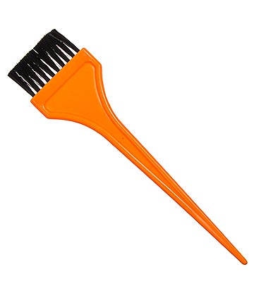 Large Hair Dye Tint Brush (Orange)