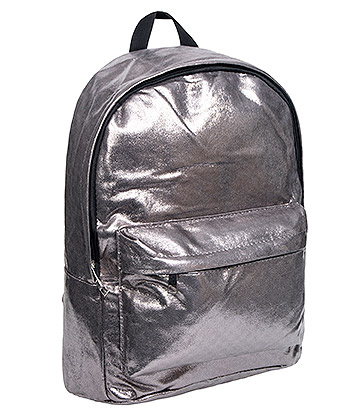 Bleeding Heart Metallic Backpack (Silver)
