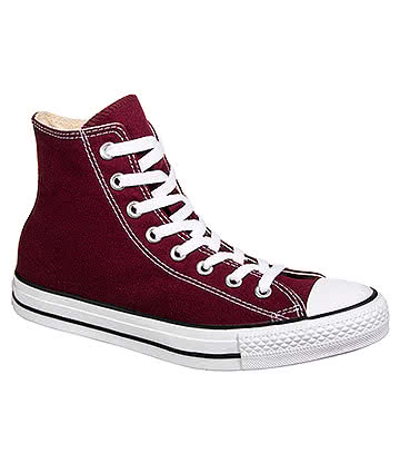 Converse All Star Hi Top Boots (Maroon)