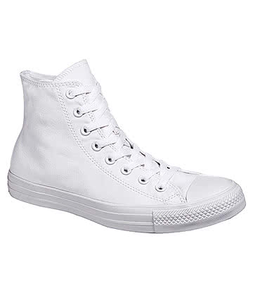 Converse All Star Hi Top Boots (White Monochrome)