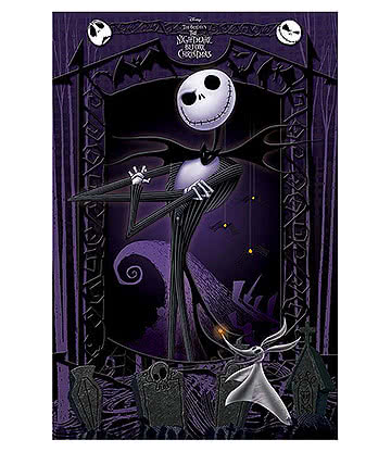 Nightmare Before Christmas It's Jack Poster (Multicoloured)
