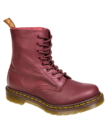 Dr Martens 1460 Pascal Boots (Cherry Red)