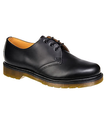Dr Martens 1461 PW Smooth Shoes (Black)