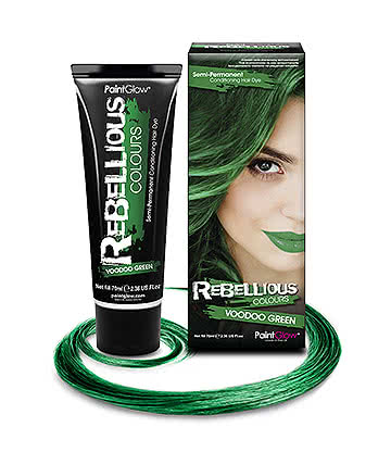 Paintglow Rebellious Colours Coloration Semi-Permanente (Voodoo Green)