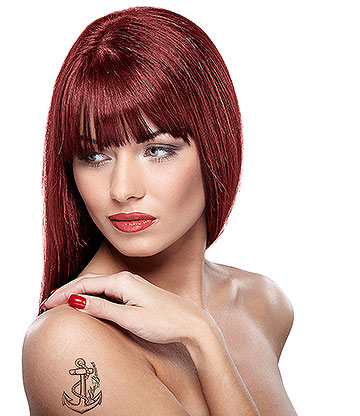 Paintglow Rebellious Colours Semi-Permanent Hair Dye 70ml (Resurrection Red)