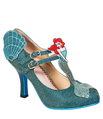Banned Stella Starlight High Heeled Shoes (Aqua)
