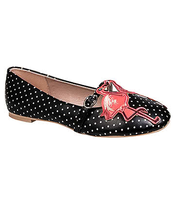 Banned Magic Moment Flat Shoes (Black)