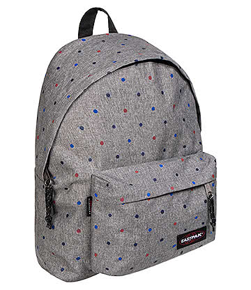 Eastpak Padded Pak'r Trio Dots Backpack (Grey)