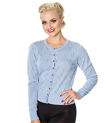 Banned Storm Chaser Cardigan (Blue)