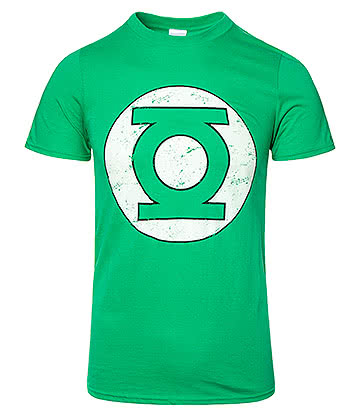 DC Comics Green Lantern Logo T Shirt (Green)