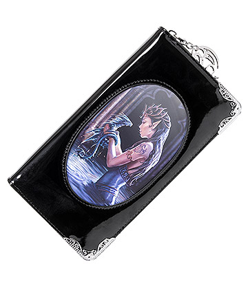 Anne Stokes Water Dragon 3D Purse (Black)