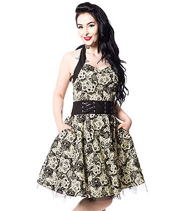 Heartless Meowtre Dress (Black)