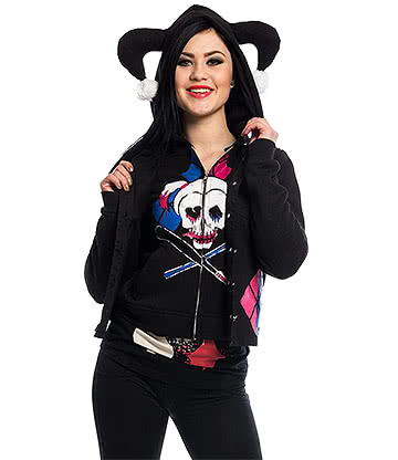 Suicide Squad Harley Twin Jacket (Black)