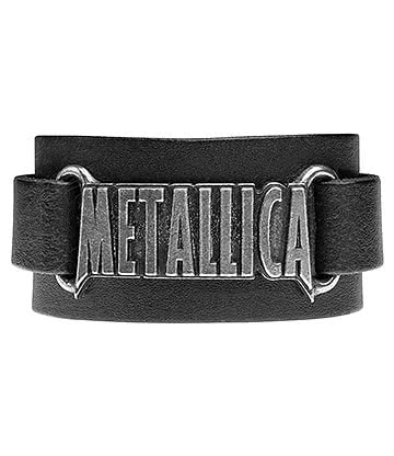 Alchemy Rocks Metallica Logo Wristband (Black)
