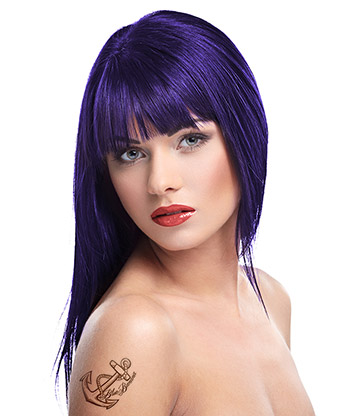 Herman's Amazing Semi-Permanent Hair Colour 115ml (Patsy Purple)