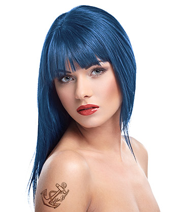 Herman's Amazing Semi-Permanent Hair Colour 115ml (Marge Blue)